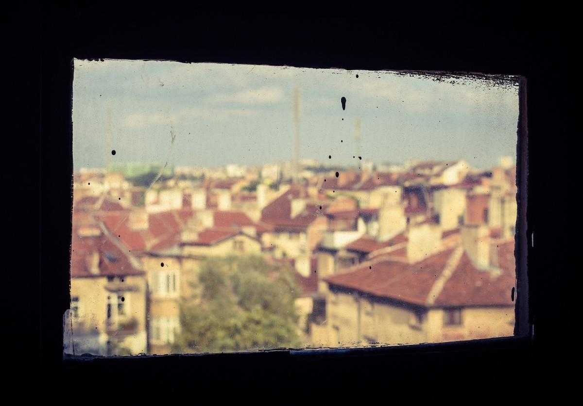 The dusty window