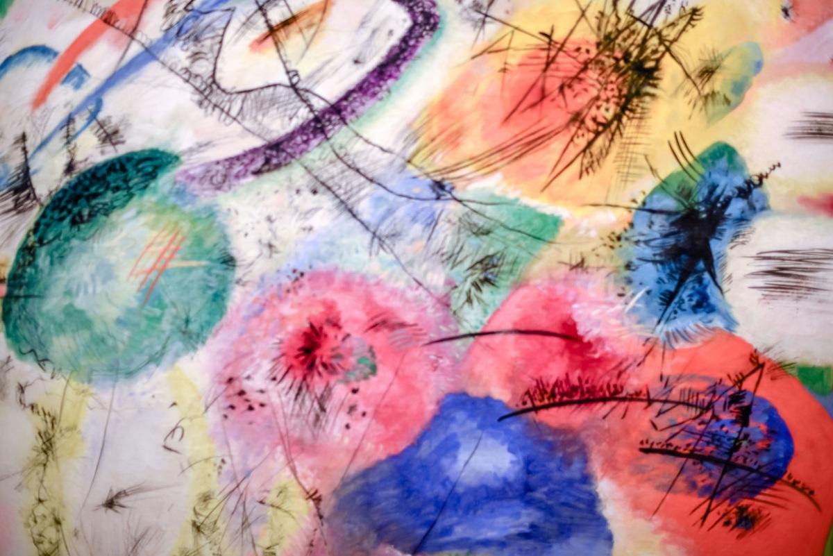 Vasily Kandinsky - Black lines